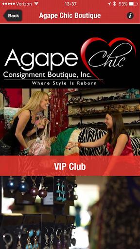 Agape Chic Boutique screenshot 1