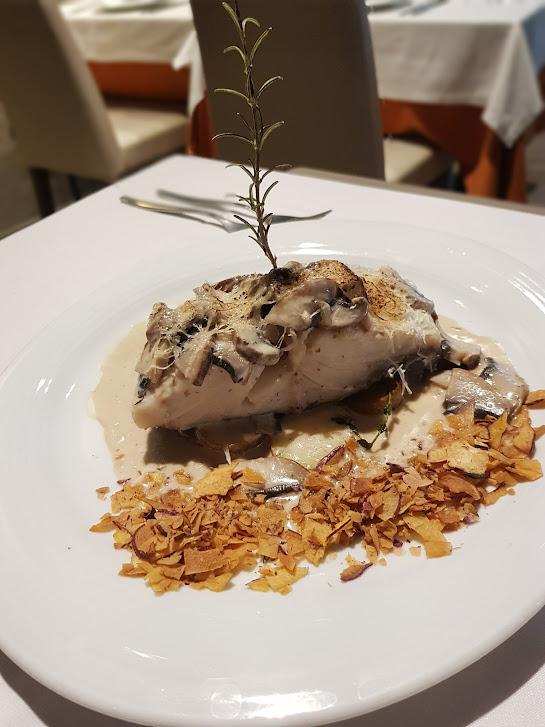 Foto do prato bacalhau com natas