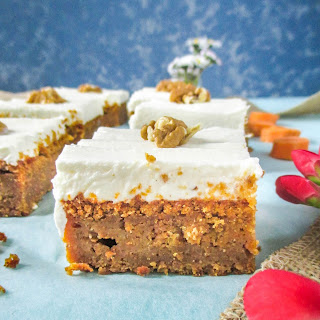 Carrot Cake with Mascarpone Frosting.