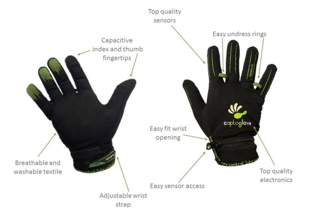 CaptoGlove - rękawiczka do VR
