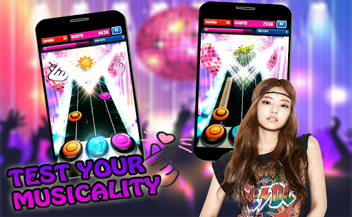 Code Triche K-POP Guitar Hero 2019 APK MOD screenshots 5