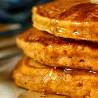Low Carb Pumpkin Pancakes.