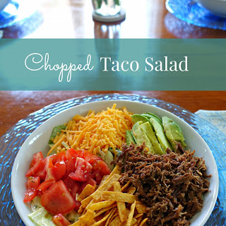 Easy Chopped Taco Salad