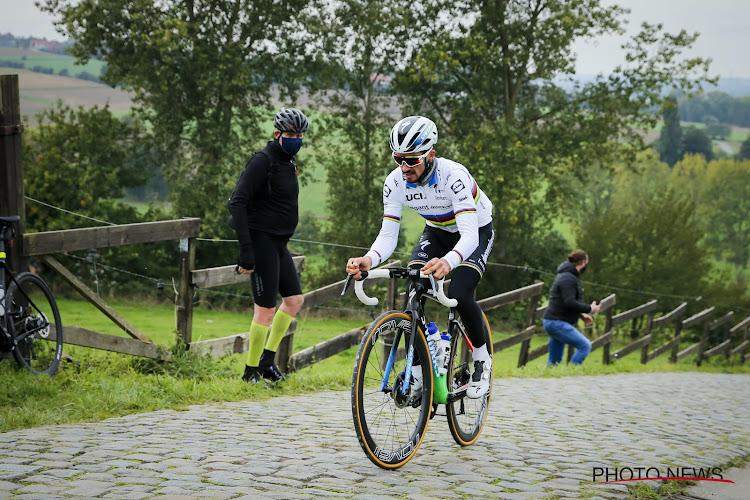 """Alaphilippe over 'speciaal gevoel' en belang van de Ronde: """"Geen echte Flandrien, wel goed jaar om koers te ontdekken"""""""