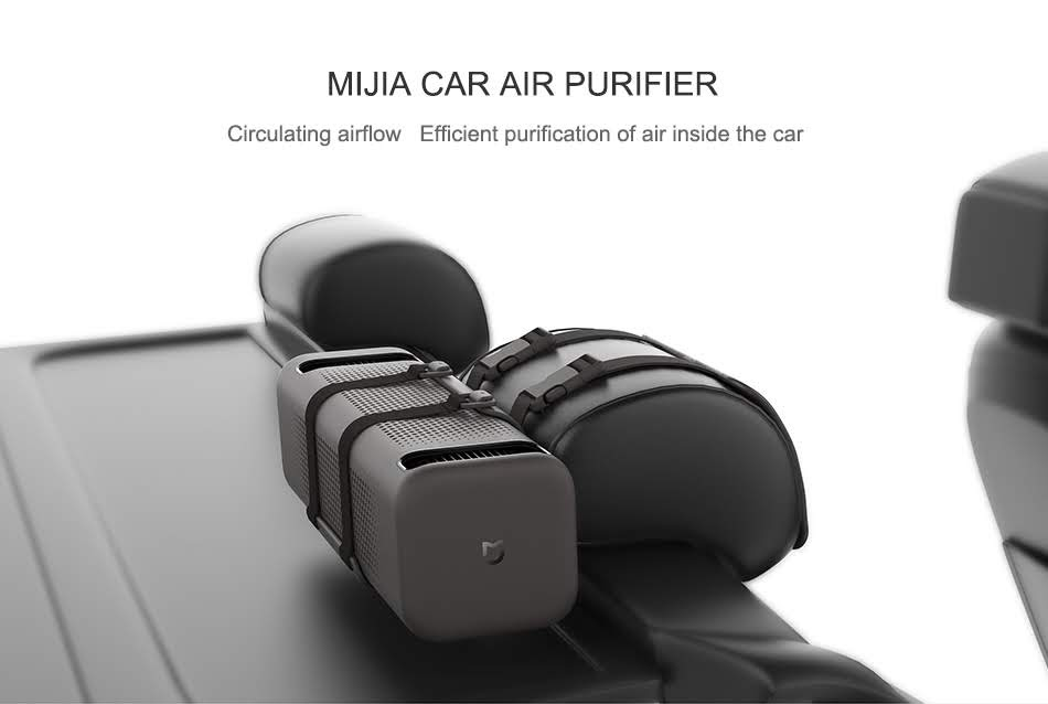 (引用元:Xiaomi公式サイト Mijia Car Air Purifier)