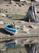 Photo: Last boat on the lake