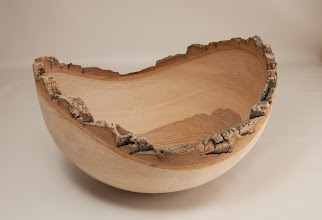 "Photo: Duane Schmidt 16"" x 6"" bowl [ash]"