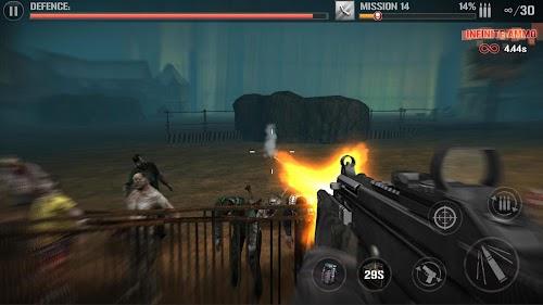 Screenshot 1 Zombie Defense Force-3d zombies hunting king 1.0.7.1 APK MOD