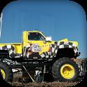 Big Monster Truck Racing 3D icon