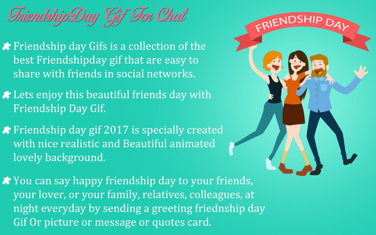 Nice Quotes About Friendship Friendship Day Gif 2017  Android Apps On Google Play