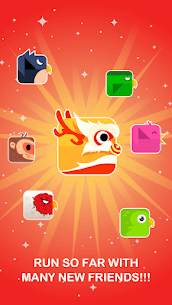 Square Bird – Tower Egg 5