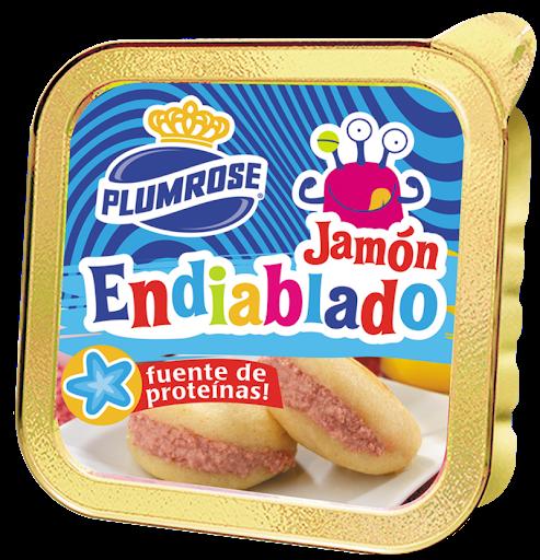 Jamón Endiablado Plumrose Flexible 60Gr Plumrose