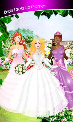 花嫁は ゲームをドレスアップ