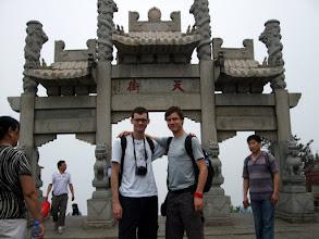 Photo: Top of the Taishan mountain