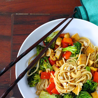 Broccoli Noodle Stir Fry