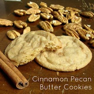 Cinnamon Pecan Butter Cookies