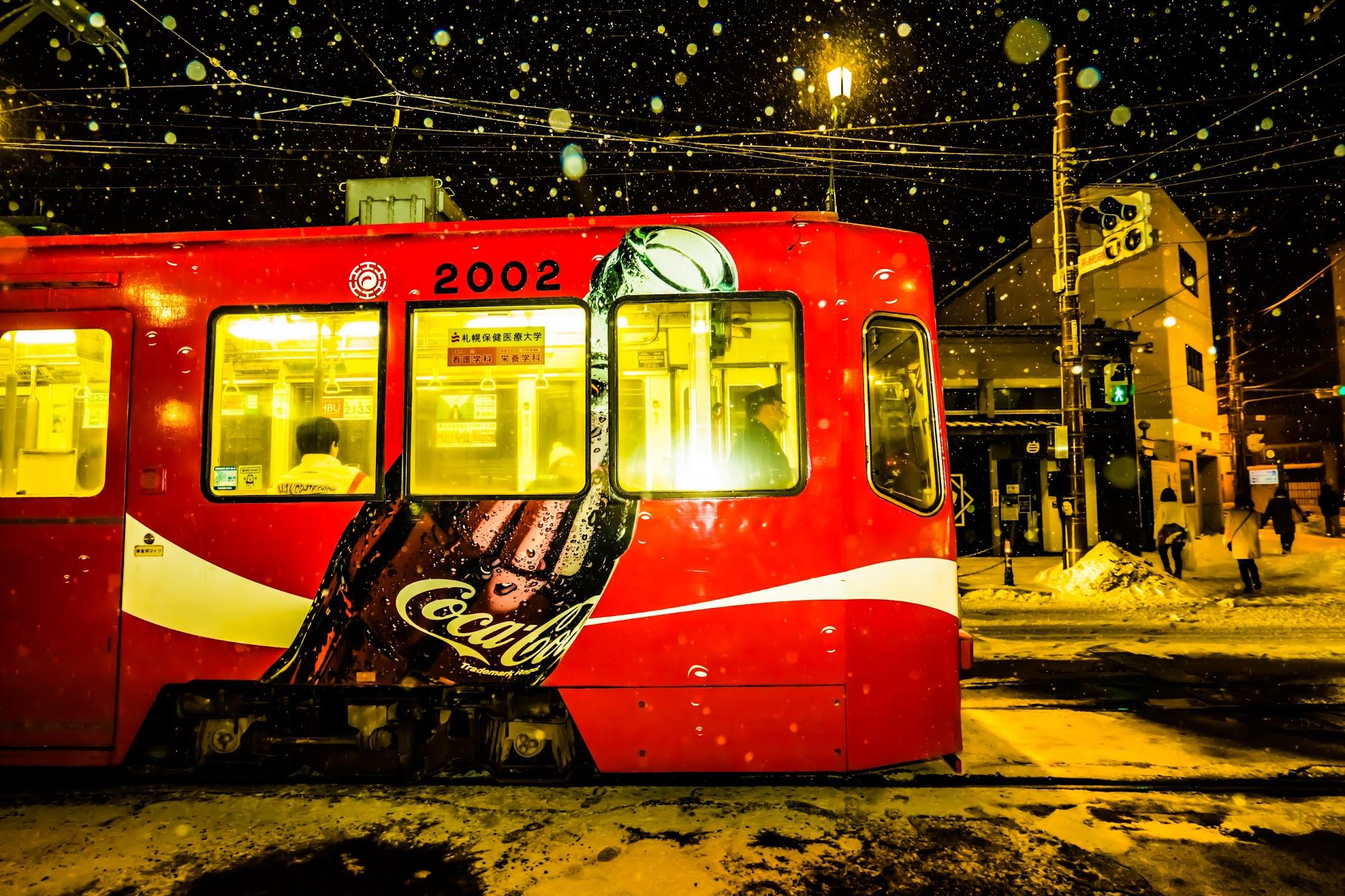 函館 市電 雪4