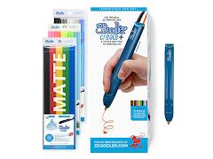 3Doodler Create+ Essentials 3D Printing Pen Set - Blue