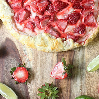 Strawberry Lime Galette
