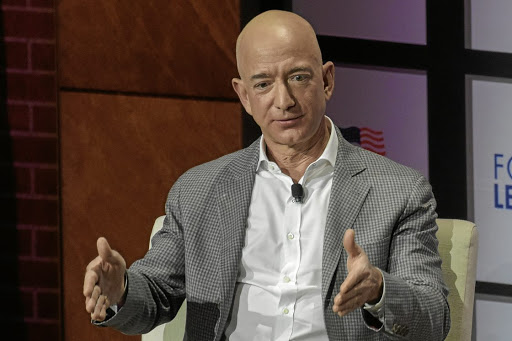 Sale: Amazon CE Jeff Bezos crossed the threshold just as Amazon prepares to kick off its 36-hour summer sales event. Picture: REUTERS