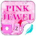 Pink jewel for Hitap Keyboard icon