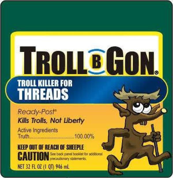 Troll-b-gone Recipe