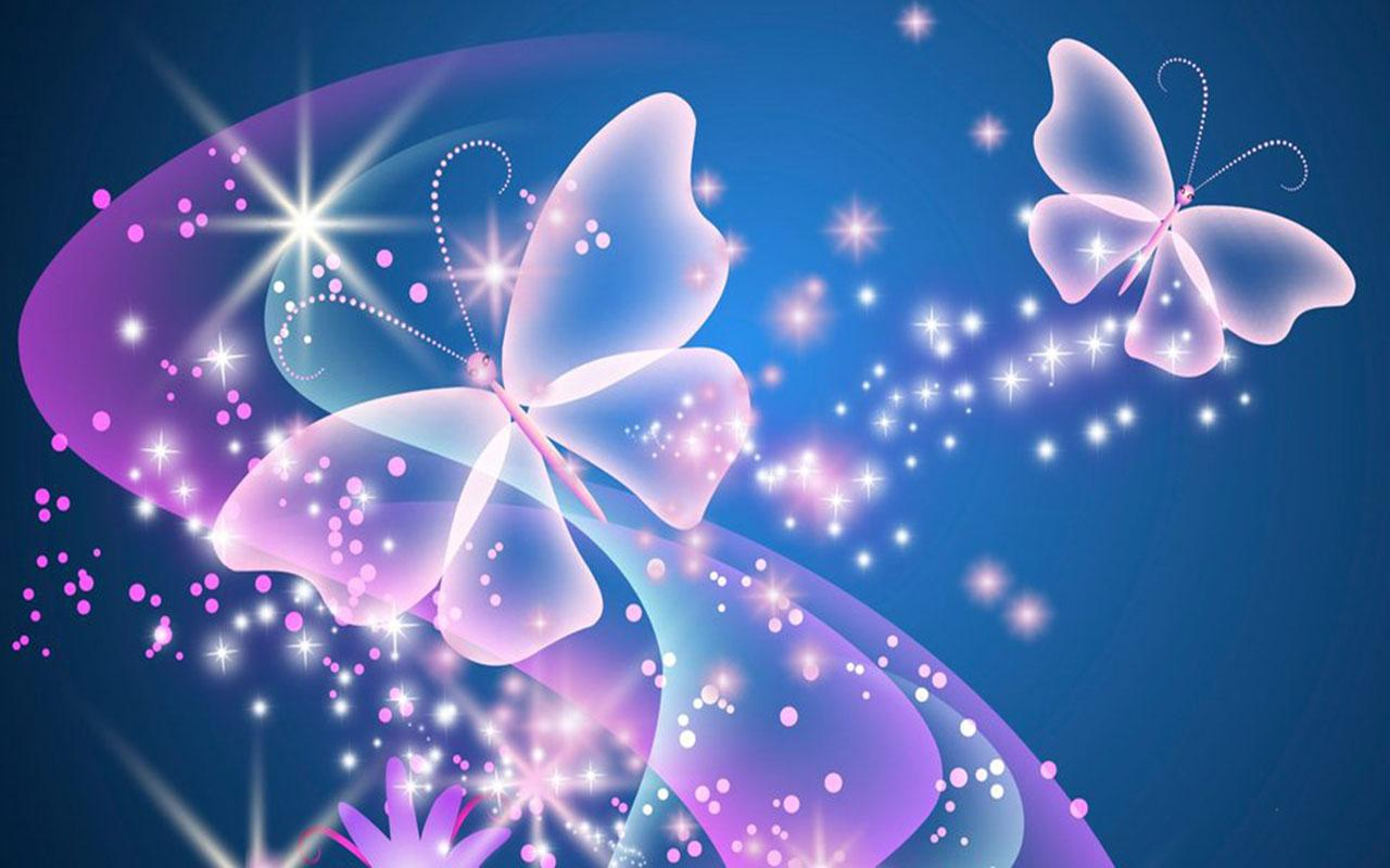 Neon Butterfly Desktop Background: Android Apps On Google Play