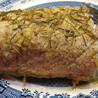 Pork Loin Top Loin Roast Recipes.
