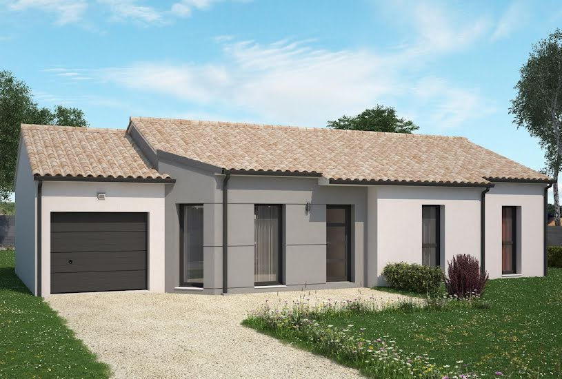 Vente Terrain + Maison - Terrain : 535m² - Maison : 88m² à Chemillé (49120)