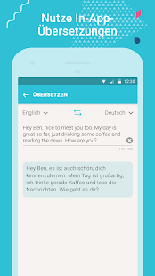 Tandem Language Exchange :  Sprachen üben online Screenshot