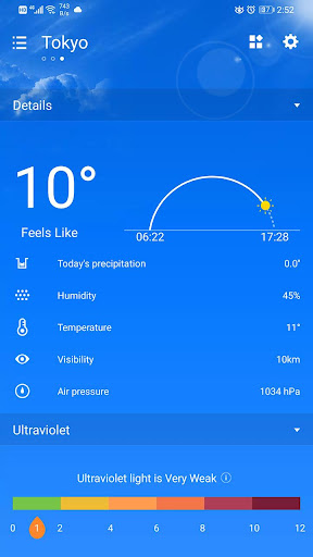 Weather Forecast 2.3.32 screenshots 6