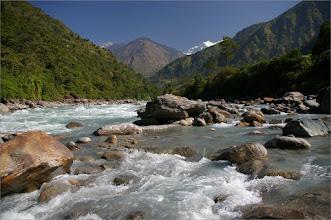 Photo: 8 XI 2011 Marsyandi Nadi i Himalchuli