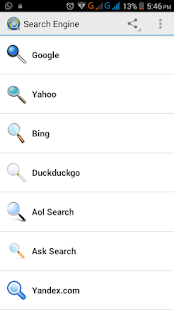Search Engines | All in One Screenshot