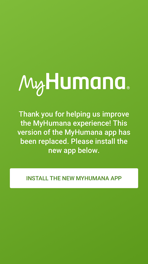 MyHumana (old version)- screenshot