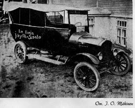 Photo: 1936 Mäkisen auto Sopukadulla