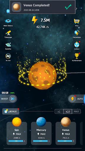 Idle Galaxy Creator apkmr screenshots 2