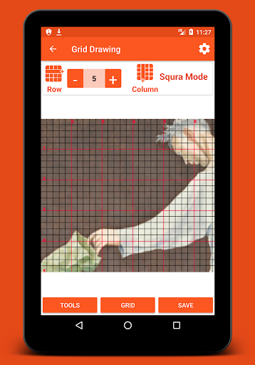 Grid Drawing Screenshot