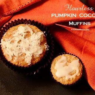 Flourless Pumpkin Coconut Muffins.