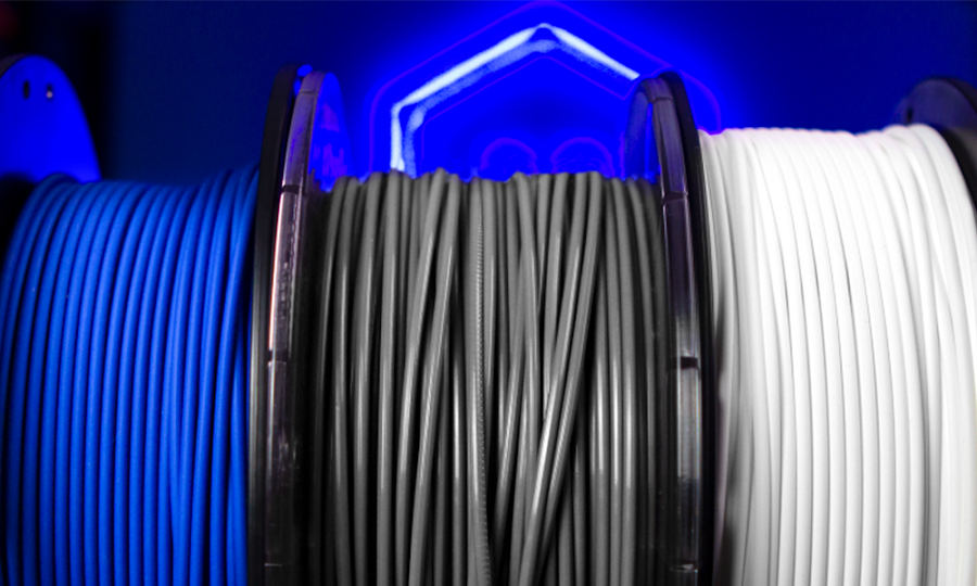 PLA, PET, and Nylon - these are just a few of many polymer materials that makers can 3D print their parts with.