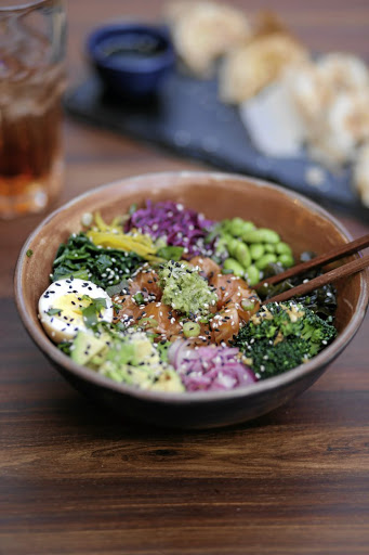 Hawaiian poke is a trendy addition to Momo Soku's menu.