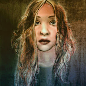 by Svetla Ivanova - Digital Art People ( face, woman, young, girl, digital art )