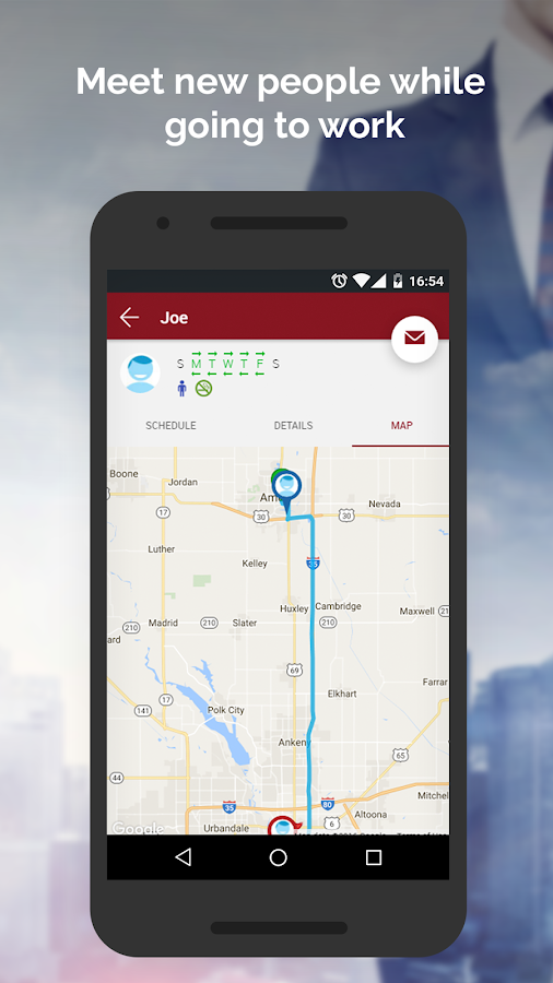 Iowa Rideshare- screenshot