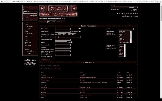 Metal Archives Exporter