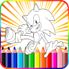 Coloring Book for Sonic