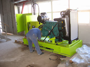 Photo: Generator Volvo 226 kva, GHCL Upsom, Ocna Mures