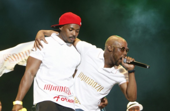 Mandoza at his final performance at the Thank You SABC concert last year