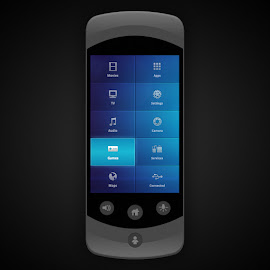 Inflight Entertainment UI Handset by Keith Barney - Web & Apps UI ( ui, handset, inflight )