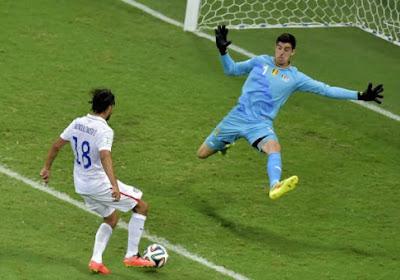 Pour Courtois, l'Argentine n'est pas au top défensivement