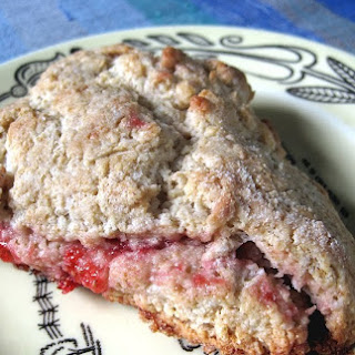 Strawberry Barley Scones