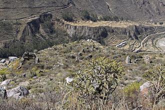 Photo: Malata - Pueblo antiguo. En abandono Lari, Caylloma - Arequipa
